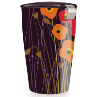 Tea Forte Kati Loose Tea Cup - Poppy Fields - 12 oz Kati Cup