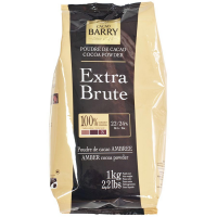 Cacao Barry Cocoa Powder - 100% Cacao - Extra Brute - 2.2 lb bag