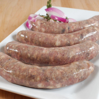 Duck and Pork Sausage with Figs - 1.1 lbs