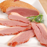 Smoked Duck Breast Magret - Whole Breast (Duck Prosciutto) - 0.9 lbs