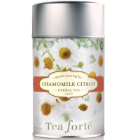 Tea Forte Chamomile Citron Herbal Tea - Loose Leaf Tea - 50 Servings Canister