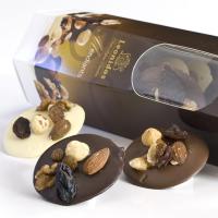 Leonidas Mendiant - Dried Fruits in Chocolate - 0.4 lb tube box