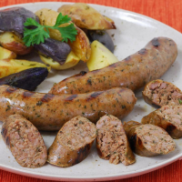 Duck Bacon Sausage with Jalapenos - 1 pack of 4 - 16 oz