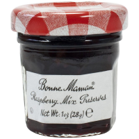 Bonne Maman Raspberry Mix Preserves - Mini Jars - 15 count 1 oz mini jars