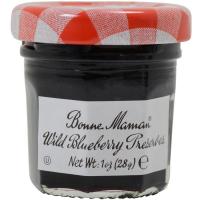 Bonne Maman Wild Blueberry Preserves - Mini Jars - 15 count 1 oz mini jars