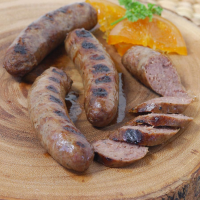Bison Sausages With Chipotle Chilies - 12 oz pack, 4 links
