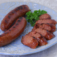 Smoked Duck and Apple Jack Brandy Sausage - 12 oz pack, 4 links