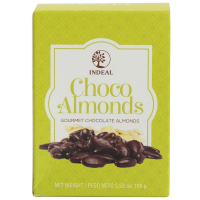 Chocolate Covered Almonds - Choco Almonds - 1 bag - 3.53 oz