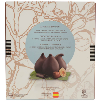 Assorted Chocolate Coated Figs, With Praline Cream and Plain - 5 chocolate covered figs - 2 with praline cream, 3 plain