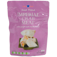 Wild Caught Imperial Lump Crab Meat - 1 lb pouch