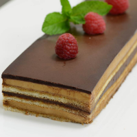 French Opera Cake - Frozen - 1 strip cake - 24 oz