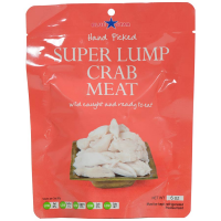 Super Lump Crab Meat - 6 oz pouch