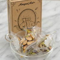 Monsieur Dur - Chocolate and Pistachio Nougat - 3.5 oz box - 13 pc