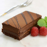 French Crunchy Chocolate Hazelnut Strip Cake - Frozen - 1 strip cake - 1.5 lbs