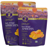Turkish Premium Sun-Dried Yellow Apricots - 1 bag - 6 oz