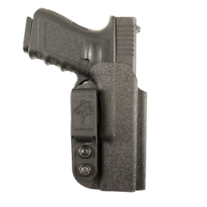 #137 SLIM-TUK IWB KYDEX HOLSTER FOR S&W M&P SHIELD .45 BLK AMBI thumbnail