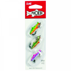Acme Phoebe Spinning Blade Lure Deluxe Pack 1/8 oz 3/pk - Assorted thumbnail
