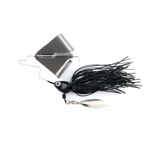 SHL Fish Head Buzz Bait Lure 3/8 oz - Black thumbnail