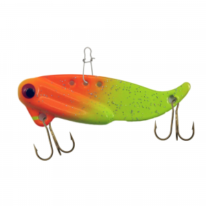 VIB-E Blade Fishing Bait Lure 1/4 oz - Chartreuse Fire thumbnail