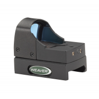 Weaver Micro Red Dot Sight - 4 MOA Red Dot - Matte