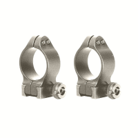 Knight Muzzleloading Quick Detachable Scope Rings - Silver