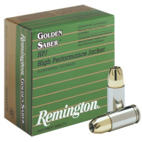 Remington Golden Saber Handgun Ammo .45 ACP (+P) 185 gr BJHP 25/box
