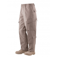Tru-Spec Tactical Response Uniform (TRU) Pants - 65/35 Polyester/Cotton Rip-Stop Khaki Small