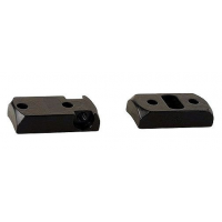 Redfield 2-Piece Steel Rotary Dovetail Scope Base SAV 10/110, SAV AXIS, REM 783, RUGER AMER - Matte Black