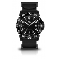 Smith & Bradley Sans-13 Tactical Sport Watch Black/Dial/Black Case 42mm