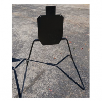 """Viking Solutions IPSC Target Plate 3/8"""" Full-Size"""