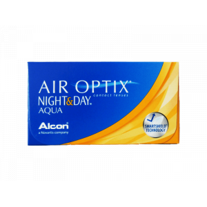 Air Optix Aqua Night & Day Monthly Contact Lenses