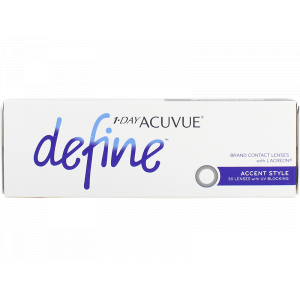 1 Day Acuvue Define Accent Style with LACREON 30 Pk