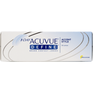 1 Day Acuvue Define Accent Style Daily Contact Lenses