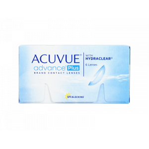 Acuvue Advance Plus Weekly Contact Lenses