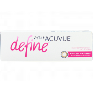 1 Day Acuvue Define Natural Shimmer With LACREON