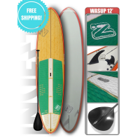 INVERT WASUP BAMBOO ORANGE 12' SUP PACKAGE