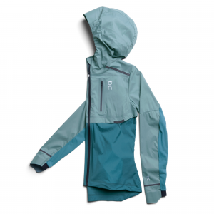 On Weather Jacket - Blue/Green