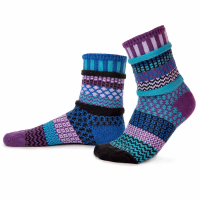 Raspberry Recycled Cotton Socks