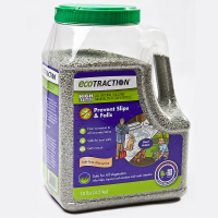 EcoTraction All Natural Volcanic Mineral Winter Traction (Pet and Kid Safe) 10 Lb. Jug