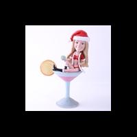 Custom Bobblehead Doll: Sexy Santa Girl