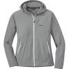 Outdoor Research Women's Ferrosi Hooded Jacket Light Pewter