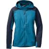 Outdoor Research Women's Ferrosi Hooded Jacket Oasis / Night
