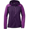 Outdoor Research Women's Ferrosi Hooded Jacket Elderberry / Wisteria
