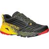 La Sportiva Men's Akasha Shoe Black / Yellow