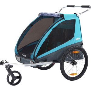 Thule Chariot Coaster XT + Bicycle Trailer Kit & Stroller Kit