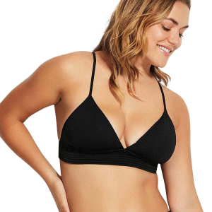 Seafolly Quilted Fixed Tri Bikini Top - Women's