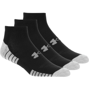 Under Armour HeatGear Tech No Show Sock - 3-Pack - Men's