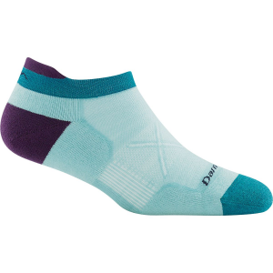 Darn Tough Vertex Stripe No Show Tab Ultra-Light Cushion Sock - Women's