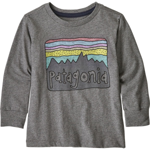 Patagonia Graphic Organic Long-Sleeve T-Shirt - Toddler Boys'