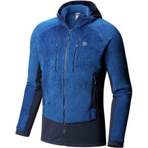 Mountain Hardwear Monkey Man Grid II Hooded Fleece Jacket - Men's